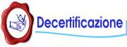 Decertificazione